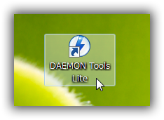DAEMON Tools Lite の設定を開く
